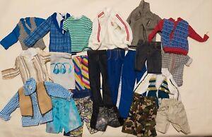 Mattel Barbie Moderns 90s-2000s Ken Doll Clothes Lot Outfits Pants Shirts K1
