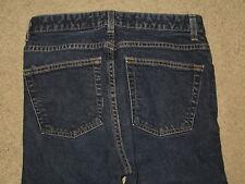 GAP Size 10 Ankle Boot Cut Stretch Denim Dark Blue Womens Jeans