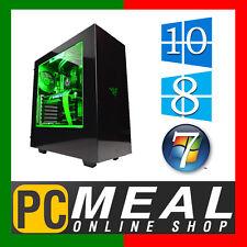INTEL Core i5 7400 Max 3.5GHz RX 560 4GB 1TB 8GB Gaming Computer Quad Desktop PC