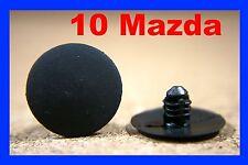 For Mazda 10 bonnet hood insulation plastic retainer fastener clips