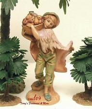 "Fontanini Depose Italy 5"" Seth Nativity Village Figure 52597 Mint No Box"