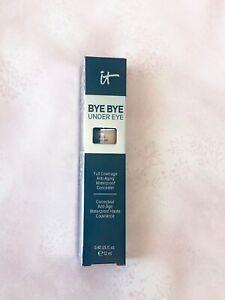 IT Cosmetics Bye Bye Under Eye Concealer, Waterproof Size 0.40 oz,Medium Shade