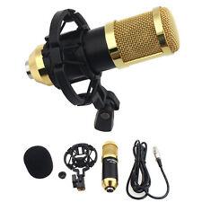 Sound Studio Dynamic Mic + Shock Mount BM800 Condenser Microphone Micrófonos