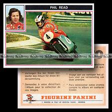 #pnsm75.006 ★ Pilote PHIL READ ★ Champion Panini Super Moto 75