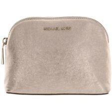MICHAEL Michael Kors Womens Soft Pink MD Travel Pouch Leather