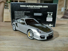 Porsche 911 997 GT2 RS Umbau Echtcarbon Kohlefaser 1:18 Autoart OVP 77898
