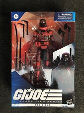 GI JOE Classified RED NINJA!! !!! IN HAND!!!