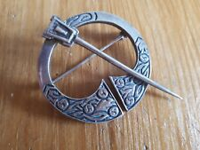 Celtic design, Scottish Silver brooch. 12.2g in weight.