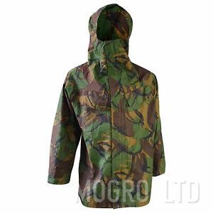 Genuine British Army Smock Jacket Coat Waterproof DPM P.V.C. Woodland Camo