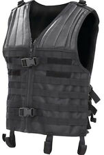 Tactical MOLLE Modular Plate Carrier Vest black Adjustable size M-XXL
