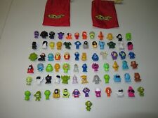Gogos Crazy Bones Lot Of 73 Peices With 2 Bags Fast Shipping B3