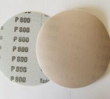 """5"""" Sanding Disc 10 Pack 800 Grit Waterproof Hook and Loop Film"""