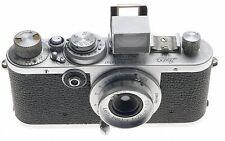 LEICA IF CHROME M39 CAMERA 6.3/28mm RARE LEITZ HEKTOR F=2.8cm 1:6.3 FINDER CAP