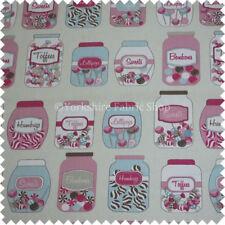 Cortinas y visillos color principal rosa dormitorio infantil 100% algodón
