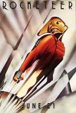 THE ROCKETEER Movie POSTER C 27x40 Billy Campbell Jennifer Connelly Alan Arkin