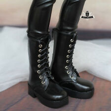 1/4 BJD Shoes MSD Supper Dollfie Black Boots MID DOD SOOM AOD LUTS Dollmore DZ