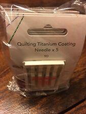 Inspira Quilting Needles 25 Ct Titanium Coated