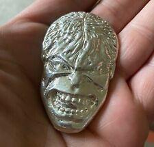 More details for 76g silver hulk - hallmarked