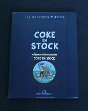 "TINTIN VERY RARE  ""LES ARCHIVES TINTIN"" COKE EN STOCK  NEW  SEALED"
