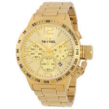 TW Acero Reloj con Cronógrafo De Caballeros Cantina 50mm oro CB104-PVP 469 € - nuevo