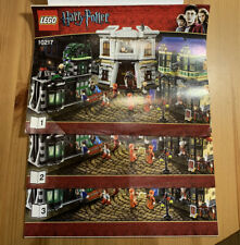 Lego - Diagon Alley 10217 - 100% Complete With Instructions No Box