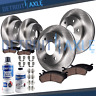 2000-2004 2005 2006 GMC Yukon XL1500 Front Rear Brakes Rotors HD + Ceramic Pads