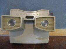 Vintage tan sawyer view-master looking glass fun toy gift picture viewer