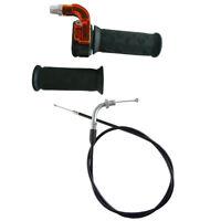 Twist Throttle Accelerator Grip Cable Fr 47 49 cc Mini Dirt Chopper Razor E Bike