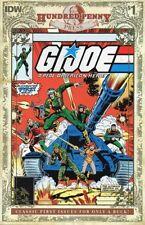 IDW GI JOE A Real American Hero 1 1982 Marvel 100 Hundred Penny Press variant NM