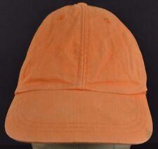 Orange Soft Blank GAP Brand Embroidered baseball hat cap Adjustable Strap
