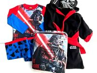 boys star wars darthe vader x store pyjamas and dressing gown sets