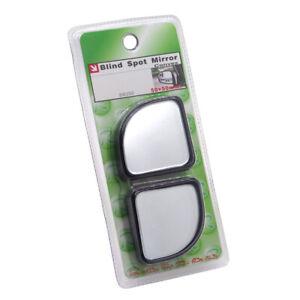 Brand New Convex Angle Auto Car Blind Spot Round StickOn Rearview Mirror 2 PCS
