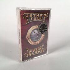 """*SEALED CASSETTE TAPE* JETHRO TULL """"Rock Island"""" 1989 Chrysalis"""
