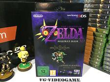 THE LEGEND OF ZELDA MAJORA'S MASK 3D SPECIAL EDITION,NINTENDO 3DS NUOVA!