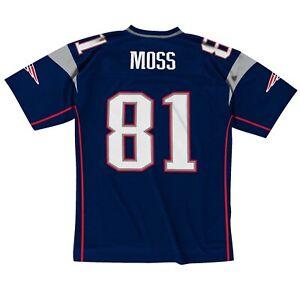 New England Patriots Randy Moss #81 Mitchell & Ness 2007 NFL Legacy Jersey