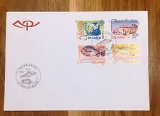 Iceland Post Official Illustrated FDC 1998.04.16. Fishes I - Series