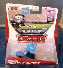 "CARS - MATTHEW ""TRUE BLUE"" McCREW - Mattel Disney Pixar"