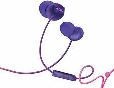 TCL SOCL Series Wired In-Ear Headphones with Mic - Sunrise Purple