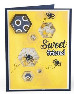 Sizzix Impresslits Sweet Friend 8pc set #663213 Retail $10.99 Courtney Chilson