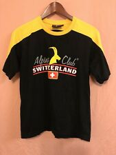 Alpine Club Switzerland T Shirt Mens Size Small