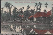 India Postcard - Rustic Scene in Bengal, Near Calcutta    MB2325