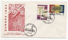 1982 ANDORRA First Day Cover EUROPA CEPT ISSUES La Vella