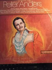 Peter Anders Hist. Performances. Scenes And Arias. Prolific. 2 Lps