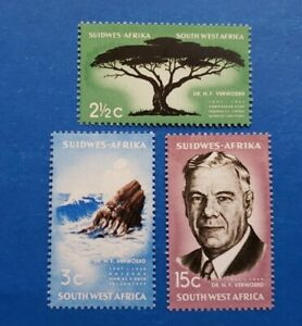 South West Africa Stamps, Scott 309-311 Complete Set MLH
