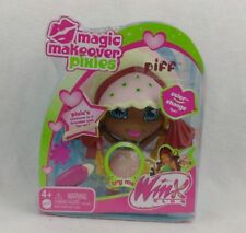 Mattel Winx Club 2005 2006 Layla Piff Magic Makeover Pixie Styling Head! NRFB!