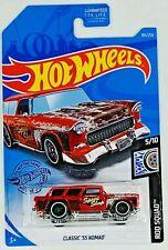 💥💥💥 Classic '55 Nomad - Hot Wheels 183/250 - Rod Squad 5/10 💥💥💥