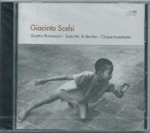 CD GIACINTO SCELSI Quattro illustrazioni (Col Legno 2003) contemporary SEALED!
