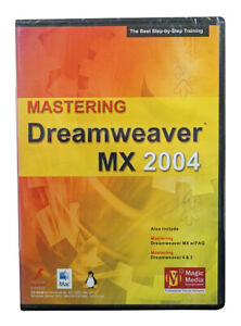 Mastering Dreamweaver MX 2004 - Self Paced Training Tutorial PC Software
