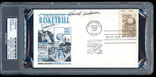 Harold Anderson Signed 1961 Basketball HOF FDC First Day Cover PSA/DNA Autograph