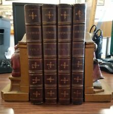 Junius 4 Vols Letters & Identity 1812 Fine Binding Leather w 10 Fold Out Plates